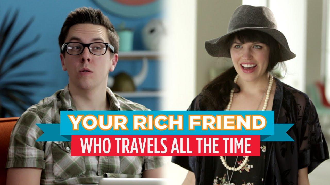 How to meet rich friends