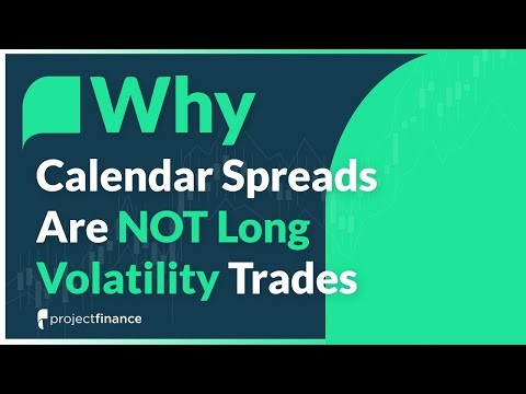 Why Calendar Spreads Are NOT Long Volatility Trades