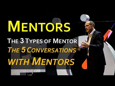 Mentorship 101: 3 Types of Mentor and 5 Conversations with Mentors