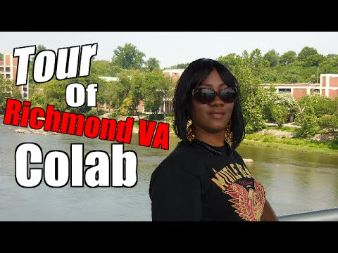 Tour Of Richmond Va Colab | w/ Miss Kevonni