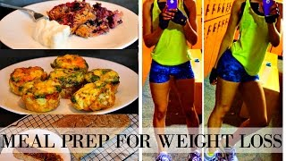 EASY MEAL PREP FOR WEIGHT LOSS: 3 Healthy & CHEAP Ideas (Breakfast)