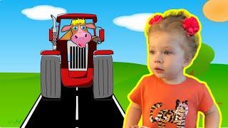 Old MacDonald Had a Farm Song| Nursery Rhymes & Baby Songs from Sasha Kids Channel