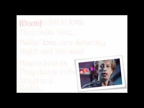 Robin Gibb Boys Do Fall In Love Lyrics Video [HQ]