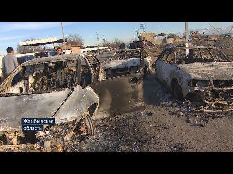 Конфликт в Масанчи - Кордайский район.