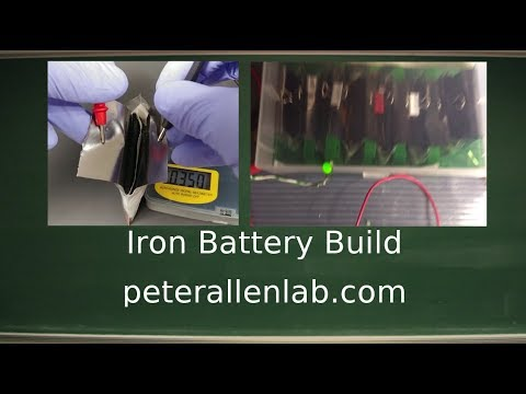 Iron Battery: Build Instructions