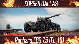 Korben Dallas(Топ стрелок)-КОЛЕСНЫЕ ТАНКИ ВОНЯЮТ ГОВНОЙ/Panhard EBR 75