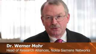 Werner Mohr, Head of Research Alliances, Nokia Siemens Networks