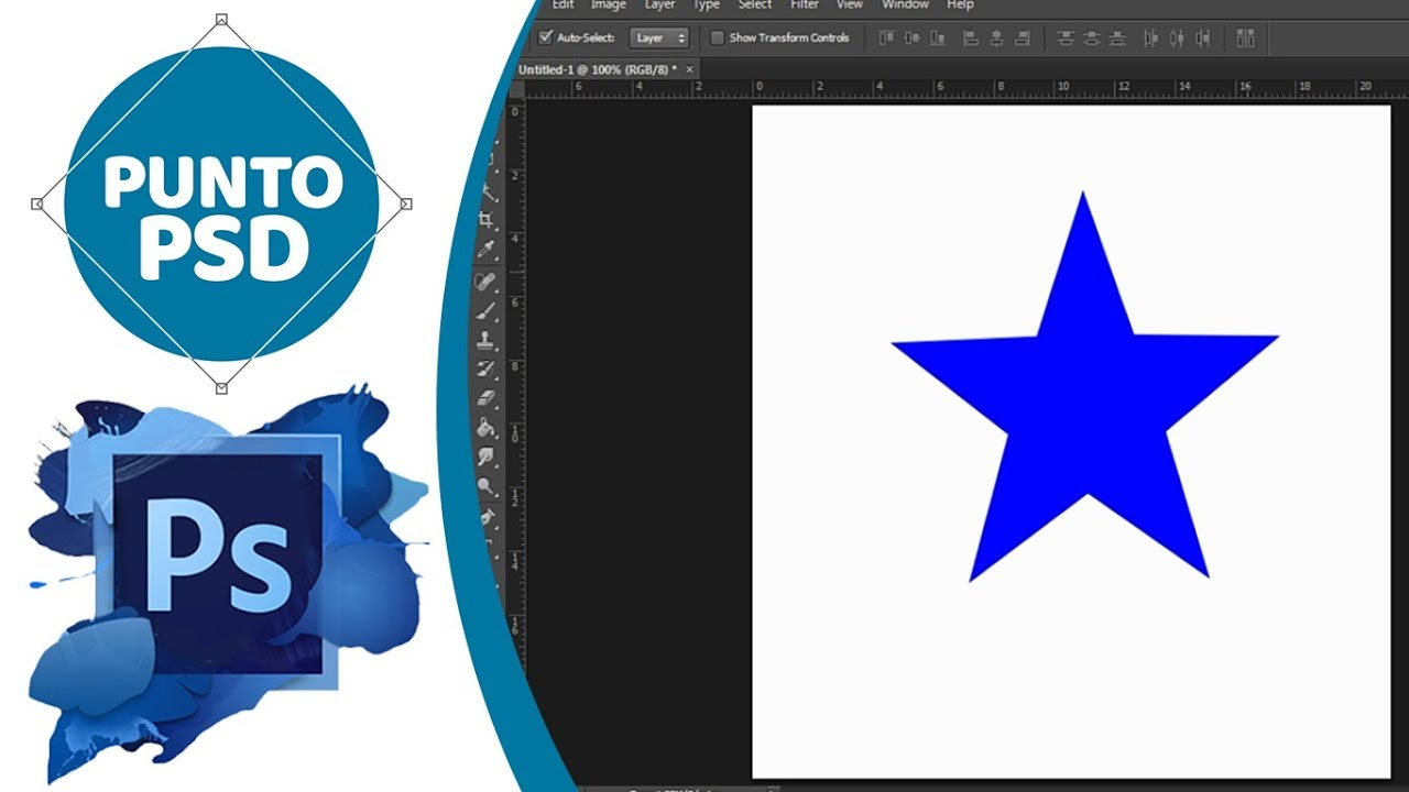 how to make a star in photoshop cs6