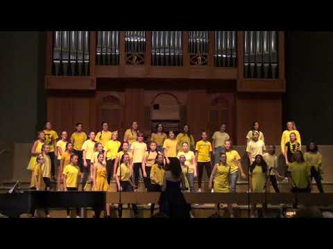 Desert Canyon Middle School - Advanced Women's Choir - Walking On Sunshine - May 23, 2019