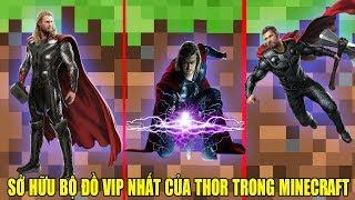 Minecraft Giới Thiệu Mod**Noob Vanh Sở Hữu Bộ Đồ Vip Nhất Của Thor Trong Minecraft**Thần Sấm Thor