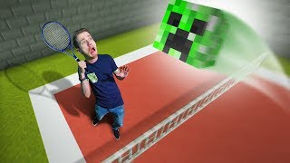 Creeper Tennis Challenge! | Minecraft [Ep 25]