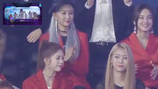 181106 Idols reaction TWICE Dance The Night Away MGA 2018