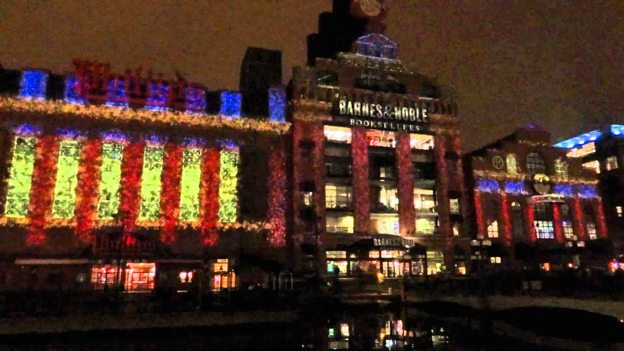 baltimore power plant christmas light show 2011 youtube - Christmas In Baltimore