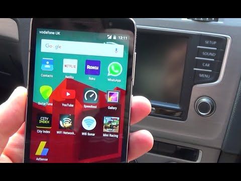 how to connect your mobile cell phone to vw golf mk7 via bluetooth youtube. Black Bedroom Furniture Sets. Home Design Ideas