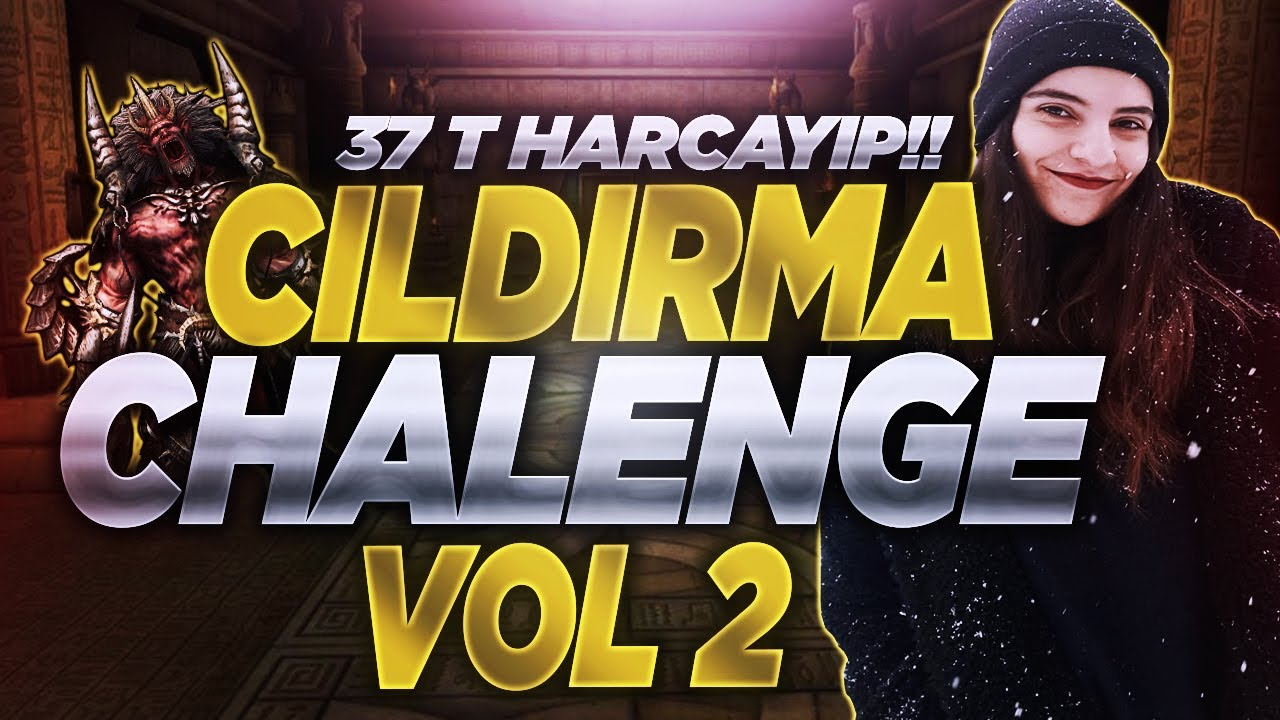 37 T İLE KUMAR KAR MI ZARAR MI ???  CILDIRMA CHALLENGE V2 [5] #Zeval2