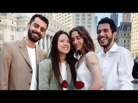 Свадьба девочек, приезд Касё и знакомство с Глюкманами