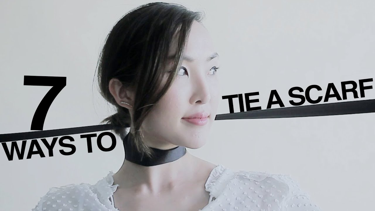 7 Ways To Tie A Thin Scarf Youtube Refreshment The Knot Head Part I Mastering Eldredge