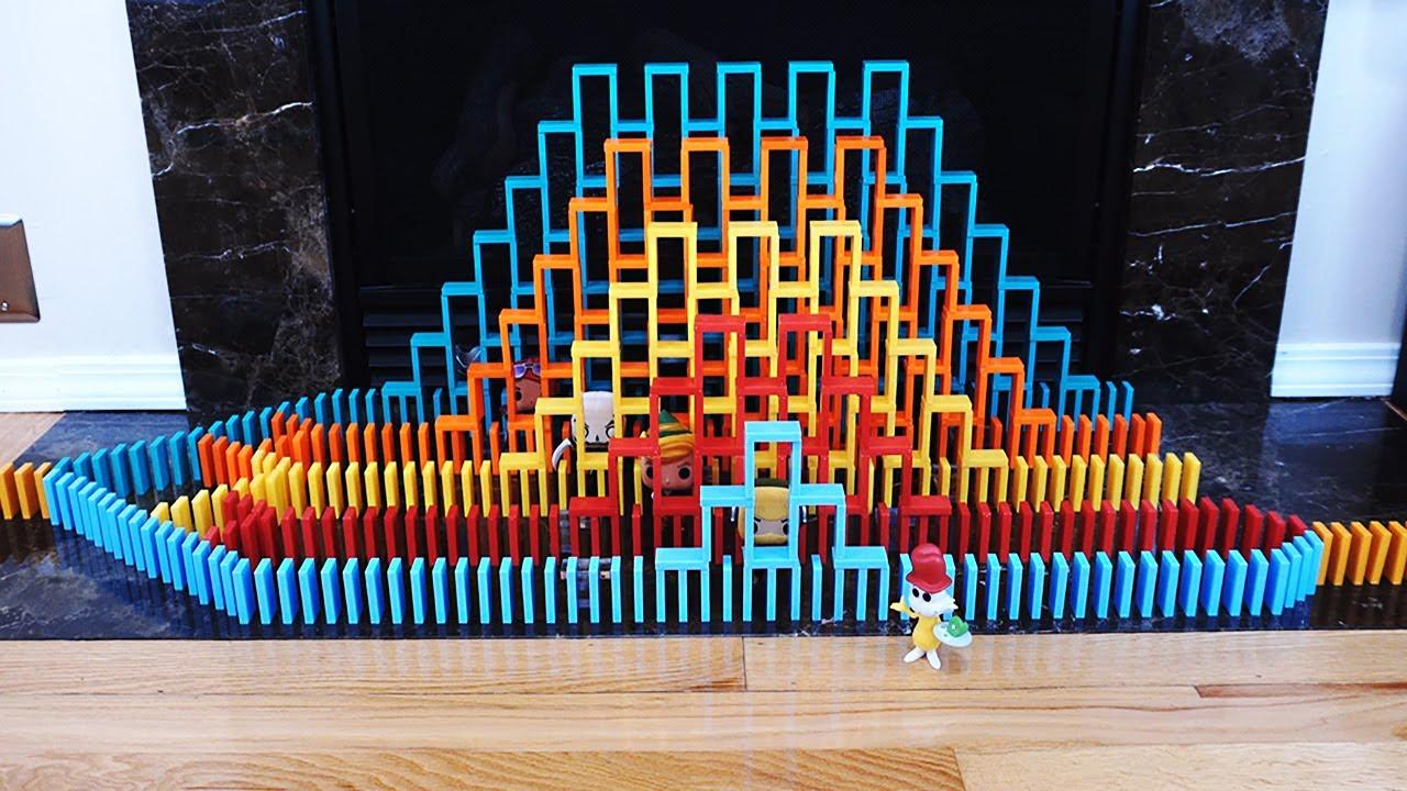 Domino Tower Screenlink Fun!