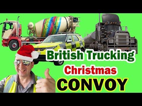 Christmas Convoy Song British Trucking Youtube