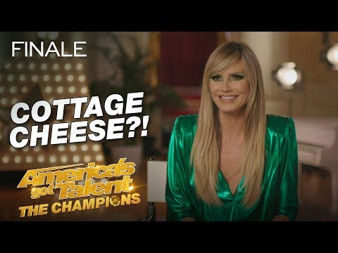 Heidi Klum Can't Live Without... Cottage Cheese?! - America's Got Talent: The Champions