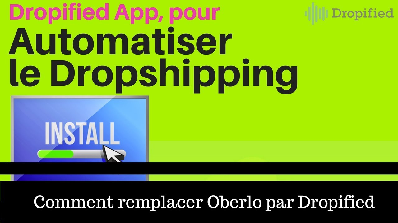 [AUTOMATISER LE DROPSHIPPING] - Connecter Aliexpress à Shopify grace à Dropified App