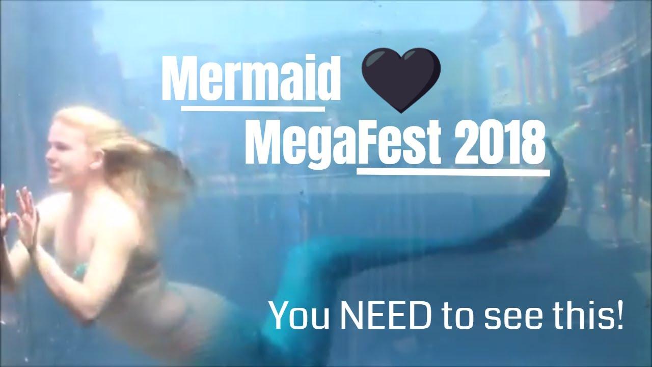 0245a4241d8 Read more MERMAID MEGAFEST 2018 VIDEO FOOTAGE  Mermaids Swimming in a Tank    Mermaid Gathering Videos ♥ At Mermaid MegaFest