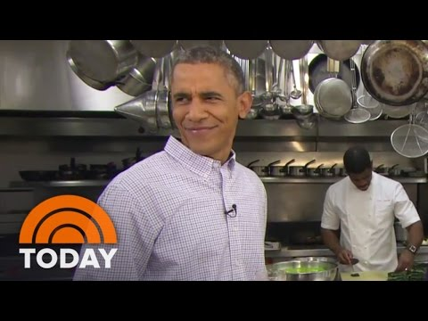 Obama Brews Beer In The White House   TODAY