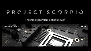 Project Scorpio Xbox 2017 press release and review