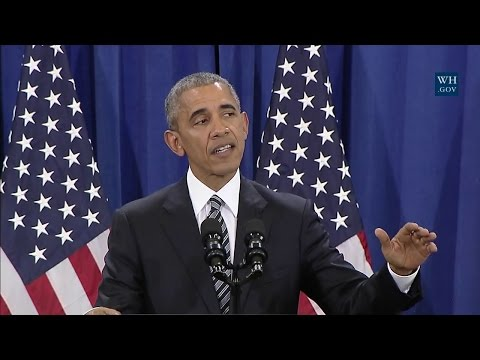 President Obama Delivers Remarks on the Administration's Approach to Counterterrorism