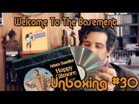happy gilmore laserdisc unboxing welcome to the basement youtube