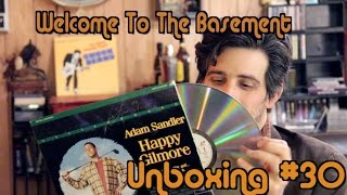 Happy Gilmore Laserdisc  - Unboxing (Welcome To The Basement)