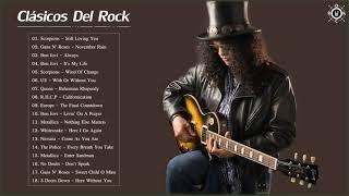 Mejores Clasicos Del Rock De Los 80 y 90 En Ingles  Lo Mejor Canciones Del Rock Exitos