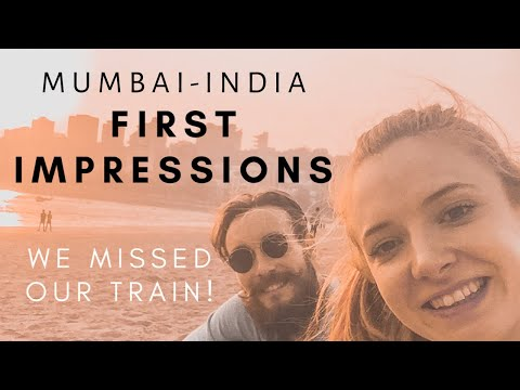 First impressions of India - Flying into Mumbai | India Travel Vlog #1