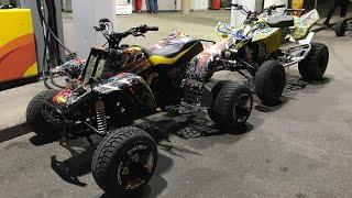 Crazy stunt ltr450 / banshee350 / yfz450r / yamaha raptor r1
