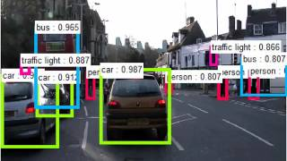 Object detection in the wild by Faster R-CNN + ResNet-101