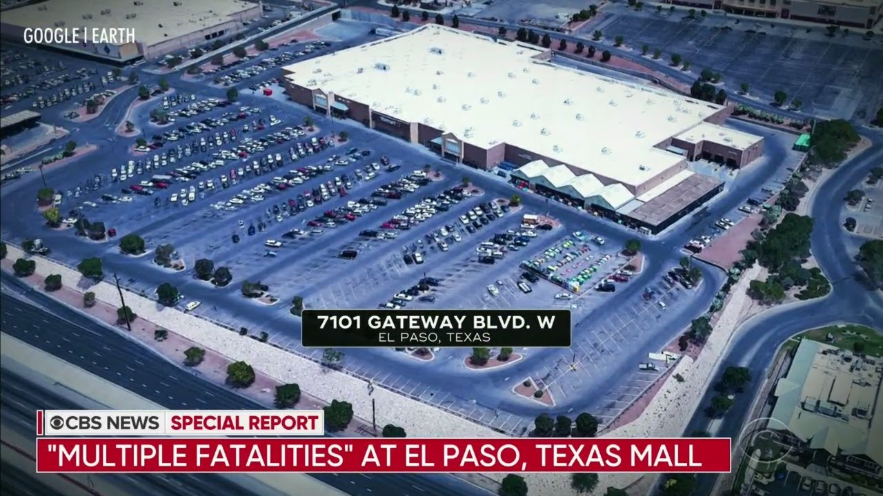 El Paso Police Say Multiple People Killed In Shooting At Shopping Mall