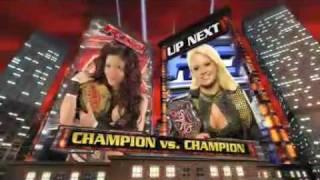 Maryse vs. Melina (Champion vs Champion Match)
