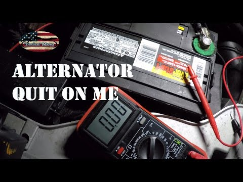 How to Replace an Alternator | Ford Taurus
