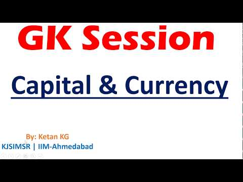 GK Session - Capital & Currency