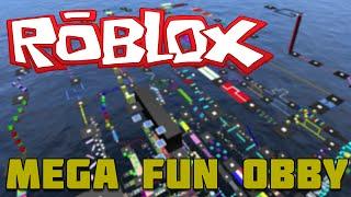 Roblox Xbox One-mega Fun Obby #1 começando alto no céu