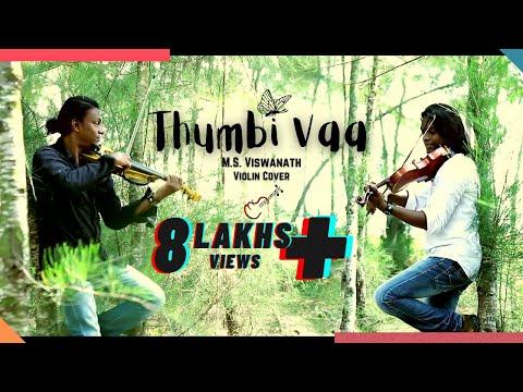 Thumbi vaa violin cover by Viswanath (gumm...