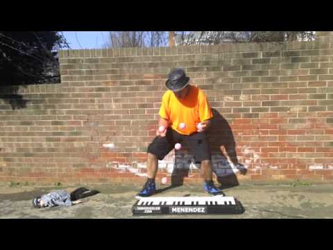 Worlds Fastest Piano Juggler part 3