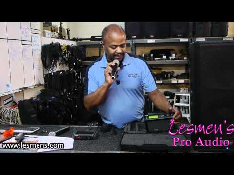 Wireless Mic Tips / Troubleshooting Shure Mics SLX24/SM58