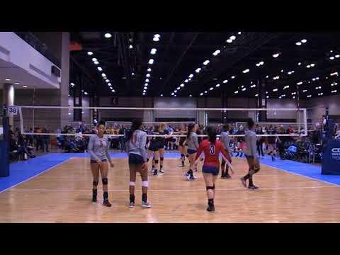 Metro 18s vs Uno Girls 18 Girls Winter Volleyball Championship Chicago, IL 2018