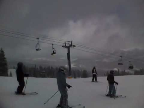 Skiing American Flyer