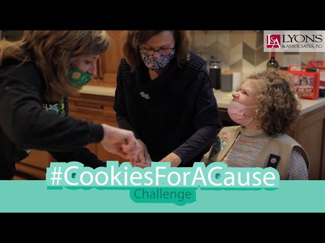 #CookiesForACause Challenge by Lyons & Associates
