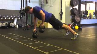 Kettlebell Renegade Rows to Create a Slim, Ripped Midsection!