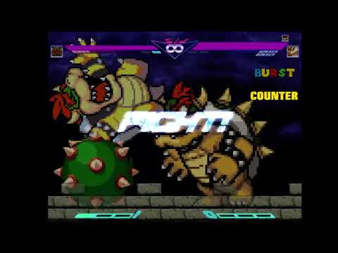 MUGEN: Bowser AI patch released