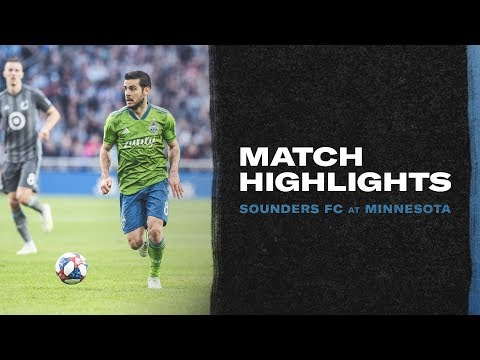 Seattle Sounders - Sounders Capture Point with Draw in Minnesota