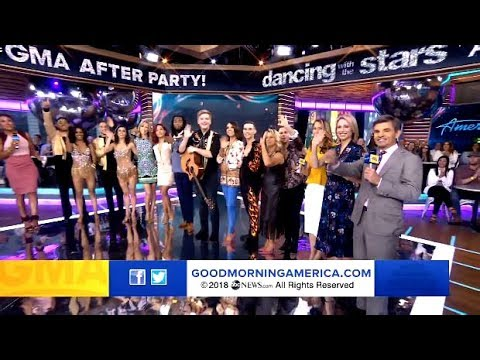 DWTS Athletes & American Idol GMA After Party (Full Video)